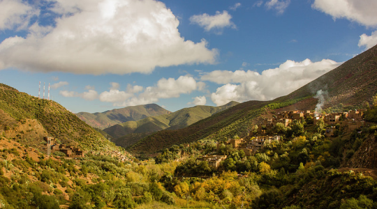 Excursión de un día desde Marrakech a Ourika y Valle de Asni