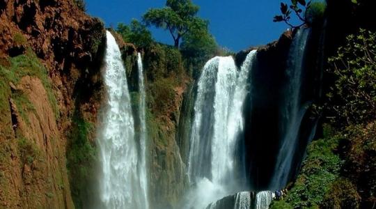 Excursión de un día desde Marrakech a las cascadas de Ouzoud